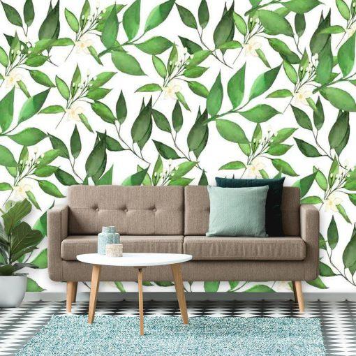 Fototapeta do pokoju - Motyw roślinny