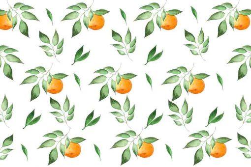 Fototapeta z motywem pomarańczy