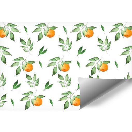 Fototapeta z motywem pomarańczy do pokoju