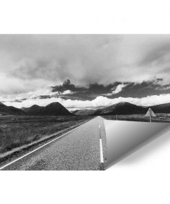 Fototapeta z ulicą do przedpokoju
