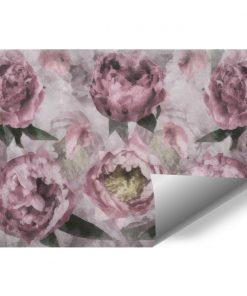 Foto-tapeta - Motyw kwiatów do przedpokoju