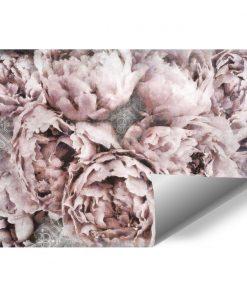 Fototapeta z motywem kwiatowym do sypialni