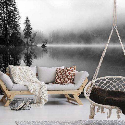Fototapeta do salonu - Mgła nad jeziorem