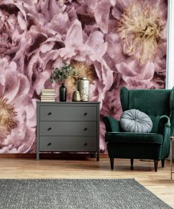 Fototapeta z różowymi piwoniami do sypialni