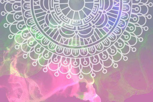 Fototapeta z mandalą