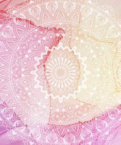 Fototapeta z motywem mandali