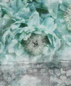 Foto-tapeta botaniczna z orientalnym wzorem