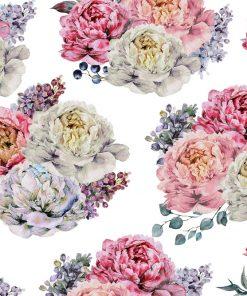 Tapeta - Kwiatowy wzór