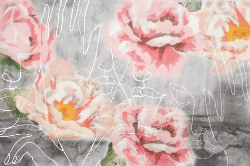 Fototapeta z różami