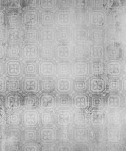 Szara tapeta ze wzorem marokańskim