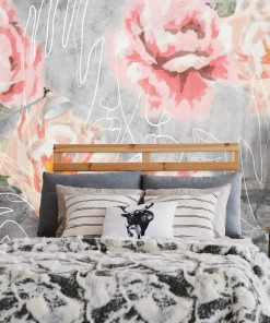 Fototapeta z różami do sypialni