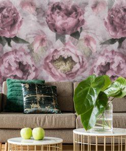 Foto-tapeta - Motyw kwiatów do pokoju