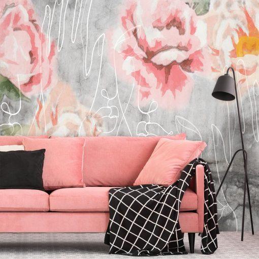 Fototapeta z różami do salonu