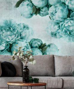 Tapeta z orientalnym tłem do salonu