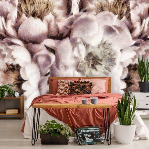 Fototapeta z motywem kwiatów do pokoju