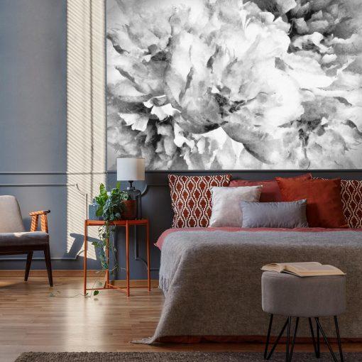 Fototapeta do sypialni - Kwiaty jak malowane