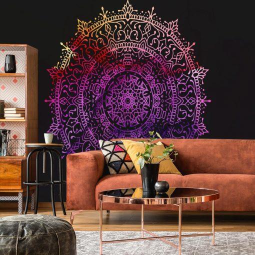 Fototapeta do salonu - Kolorowa mandala