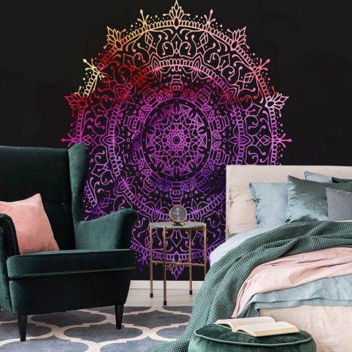 Fototapeta do pokoju - Kolorowa mandala