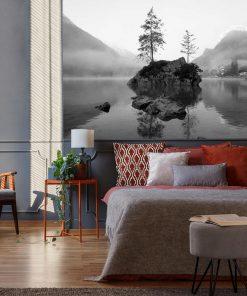Fototapeta z jeziorem Hintersee do sypialni