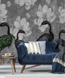 Fototapeta z żurawiami do pokoju