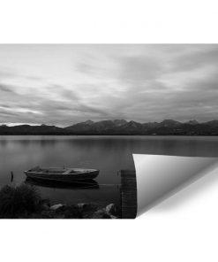 Fototapeta z jeziorem do przedpokoju