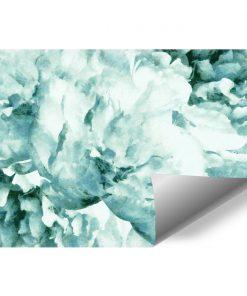 Tapeta z niebieskim kwiatem do pokoju