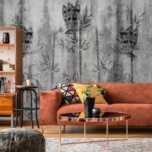 Fototapeta z bambusami do salonu