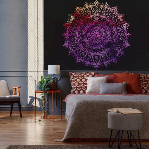 Fototapeta do sypialni - Kolorowa mandala