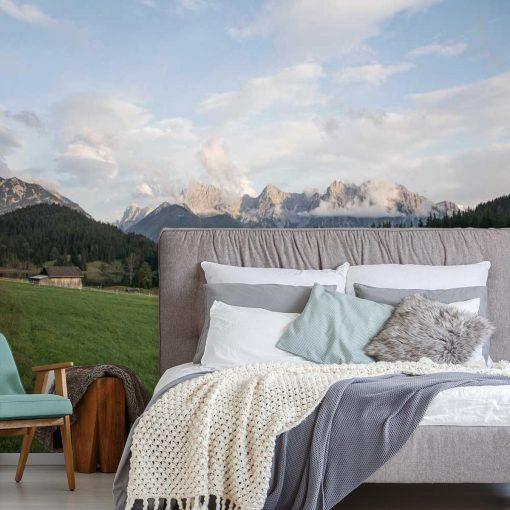 Fototapeta z motywem łąki do sypialni