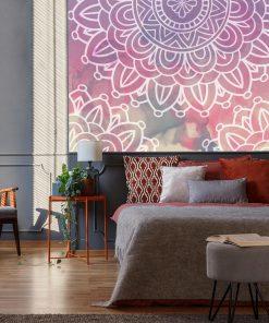 Fototapeta z mandalami do sypialni