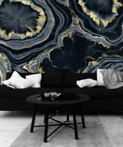 Tapeta z motywem abstrakcji do sypialni