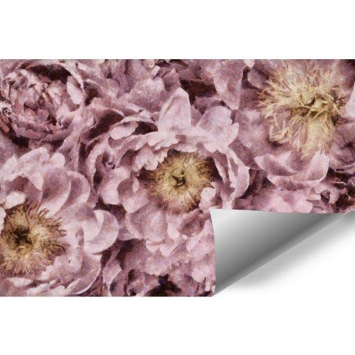 Fototapeta z różowymi piwoniami do przedpokoju