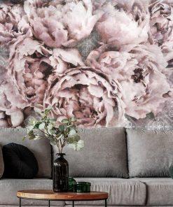 Fototapeta z motywem kwiatowym do pokoju