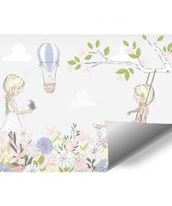 Fototapeta dziecięca - Kwiaty