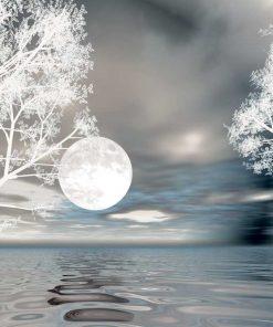 Fototapeta z motywem księżyca
