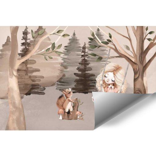 Fototapeta dziecięca - Motyw lasu