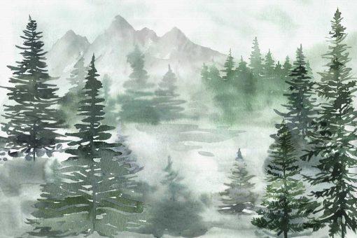 Fototapeta dla dzieci - Zieloony las