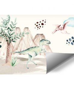 Foto-tapeta dla dziecka z Pterodaktylem