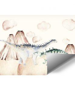 Dziecięca tapeta w Dinozaury
