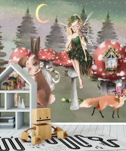 Fototapeta dla dzieci - Las Elfów