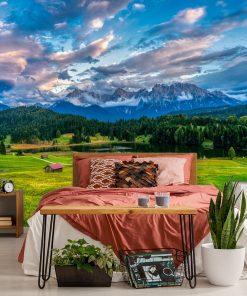 Tapeta z łąką do sypialni