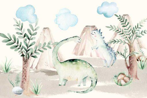 Foto-tapeta dziecięca Diplosaur