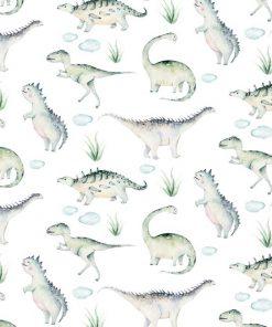 Tapeta dla dzieci z dinozaurami