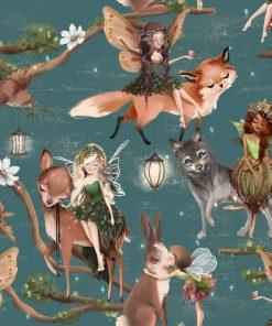 Fototapeta dla dzieci z Leśnymi Elfami