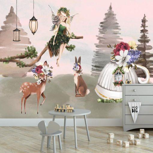 Fototapeta dla dziewczynki - Leśny elf