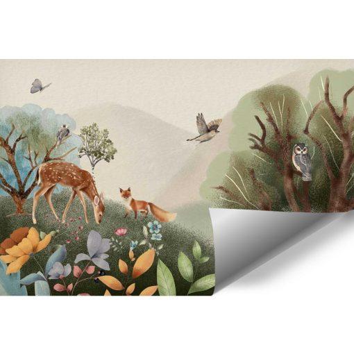 Fototapeta dla dzieci - bajkowy las