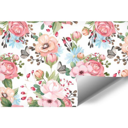 Kwiaty - Kolorowa fototapeta dla dzieci