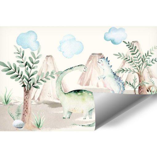 Foto- tapeta dla dzieci Dinozaury