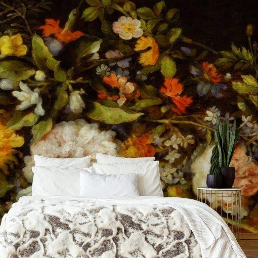 Fototapeta w kwiaty do ozdoby salonu