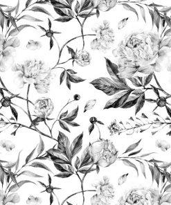Ozdoba ścienna w kwiaty do naklejejnia na ścianę